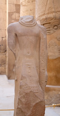 Ancient statue in Karnak temple