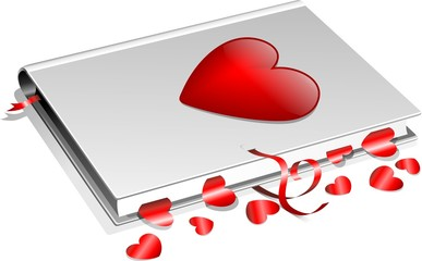 Libro d'Amore-Love Book-Vector