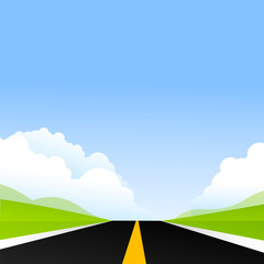 road way
