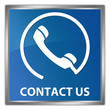 contact us with phone icon button