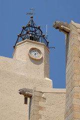 Eglise de Port Grimaud sur la côte d'Azur en France