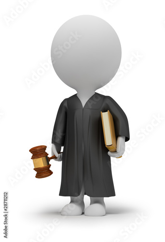 3d small people - judge