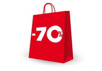 SHOPPING BAG -70%