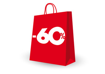 SHOPPING BAG -60%