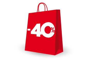 SHOPPING BAG -40%