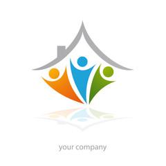 logo entreprise, association, famille