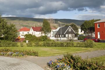 Vistas de Akureyri (Islandia)