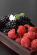 canvas print picture - fruits rouges
