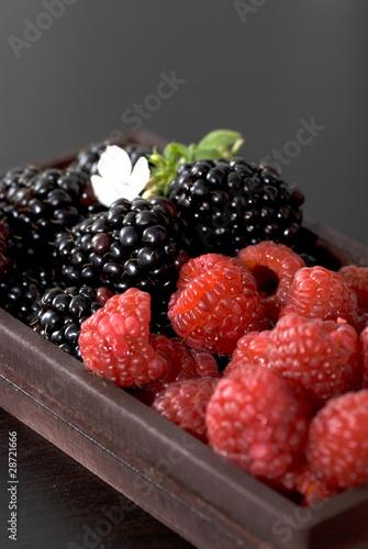 canvas print picture fruits rouges