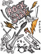 Rock Star Drawings - XXXL High Resolution
