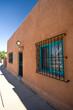 Exterior View of Adobe Home Santa Fe, New Mexico, United States