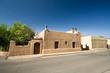 Adobe House Home Blue Sky Santa Fe, New Mexico, United States
