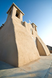 San Francisco de Asis Church Mission Ranchos Taos Adobe poster