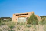 Modern Spanish Pueblo Revival House, Suburban Santa Fe, NM, USA poster