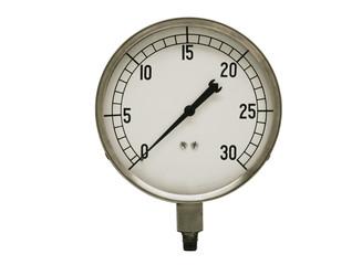 vintage pressure guage