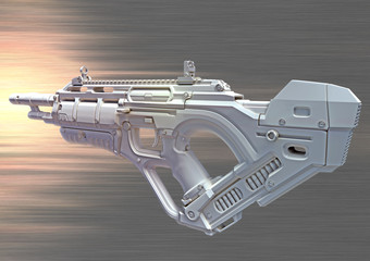 3D hightech weapon