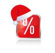 Xmas Button Prozente