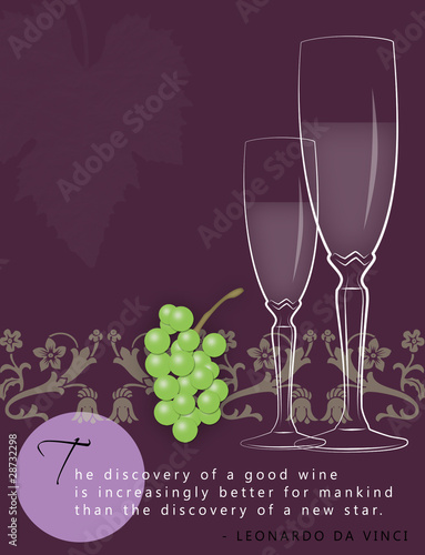Wine Ad Template