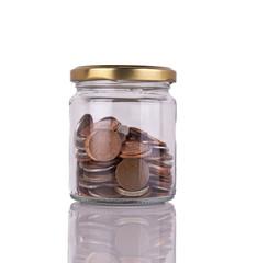Jar Full or Coins