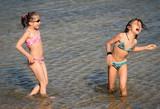 copines à la plage