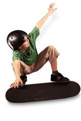 acrobazia con lo skateboard