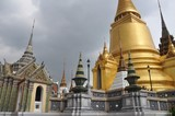 Thailand sightseeing: Royal temple and palace complex poster