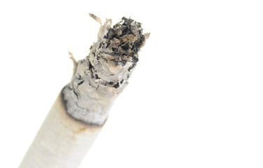 Close up on a cigarette