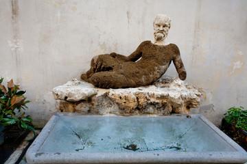 Silenus statue