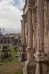 column of Arch Septimius Severus