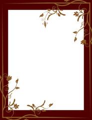 Art Nouveau Background/Border