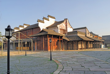 Jangsu, the Xizha ancient village houses