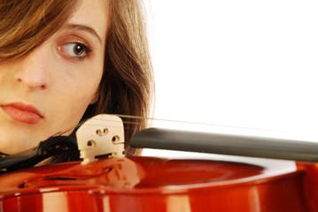 Donna con violino 009