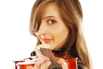 Donna con violino 015