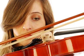 Donna con violino 014