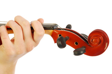 Donna con violino 016