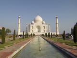 Asia India Uttar Pradesh Agra White marble Taj Mahal