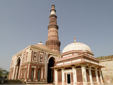 Asia India New Delhi Qutab Minaret