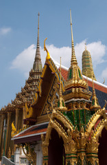 A temple at the Grand Palace at Bangkok, Thailand