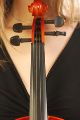 Donna con violino 049