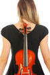 Musician with violin 057