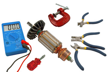 Tools for home electrical repair