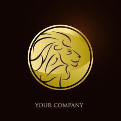 logo entreprise, lion