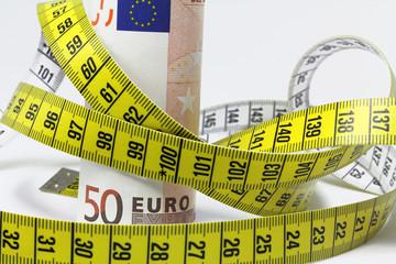 messband mit euro
