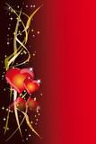 Fototapety sfondo rosso cuori