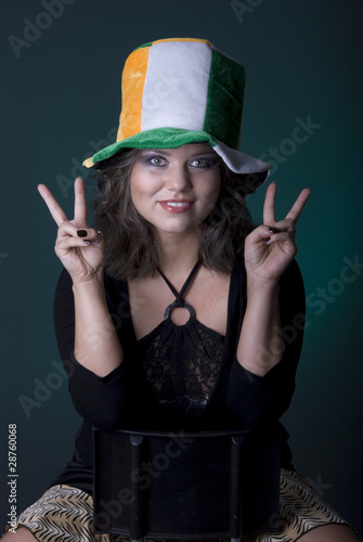 Beautiful Young Irish Woman