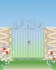 ornamental gateway