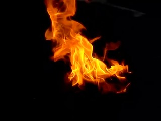 flames slow motion