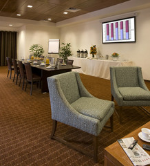 Conference and meeting room in a boutique hotel