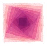 Fototapety 水彩による幾何抽象画