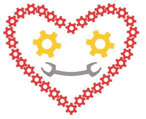 3d mechanic heart